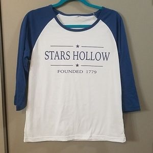 Gilmore Girls Stars Hollow Tee